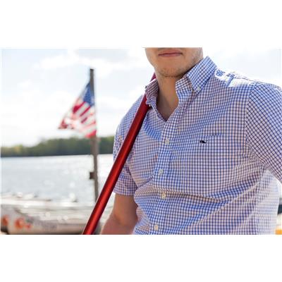(Vineyard Vines Short Sleeve Slim Fit Tucker Shirt)