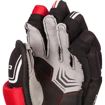 (CCM QuickLite Hockey Gloves)
