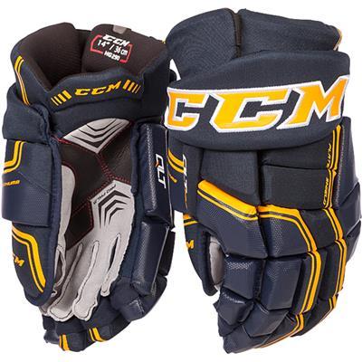 (CCM QuickLite 290 Hockey Gloves)