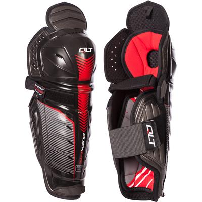 (CCM QuickLite Hockey Shin Guards)