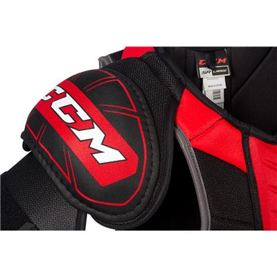 (CCM QuickLite 230 Hockey Shoulder Pads)