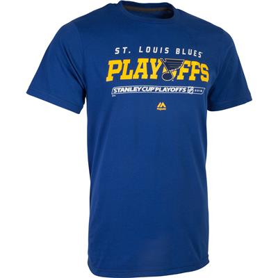 (Majestic Athletic 2016 Playoff St. Louis Blues Tee Shirt)